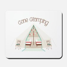 Gone Glamping Mousepad