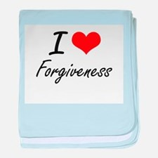 I love Forgiveness baby blanket
