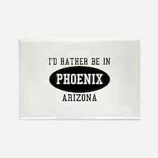 I'd Rather Be in Phoenix, Ari Rectangle Magnet