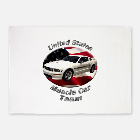 Ford Mustang GT 5`x7`Area Rug
