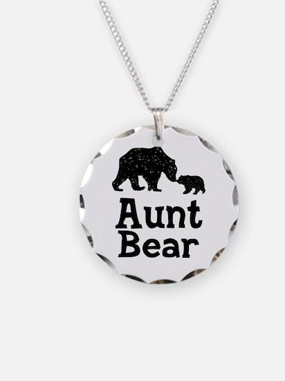 Aunt Bear Necklace