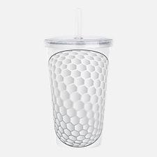 Golf Ball Acrylic Double-wall Tumbler