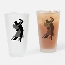 The Tango Dance Drinking Glass