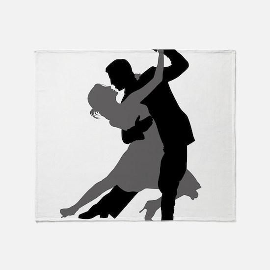 The Tango Dance Throw Blanket