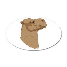 Camel Head Wall Decal