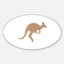 Kangaroo Decal