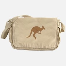 Kangaroo Messenger Bag