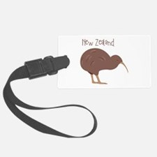 New Zealand Bird Luggage Tag