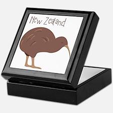 New Zealand Bird Keepsake Box