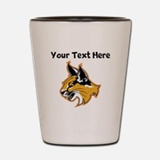 Bobcat Shot Glass