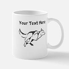 Wolf Running Mugs