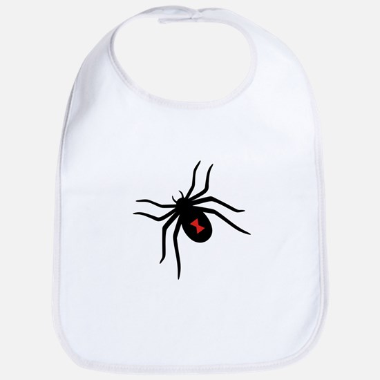 Black Widow Spider Bib