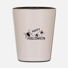 Happy Halloween Shot Glass