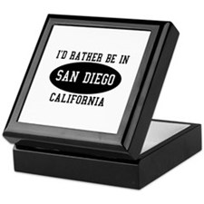 I'd Rather Be in Sand Diego, Keepsake Box