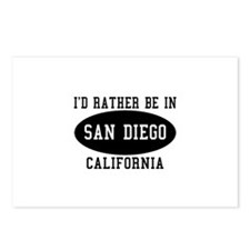 I'd Rather Be in Sand Diego, Postcards (Package o