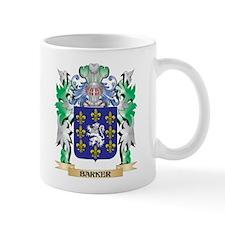Barker Coat of Arms - Family Crest Mugs