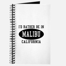 I'd Rather Be in Malibu, Cali Journal