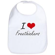 I love Freethinkers Bib