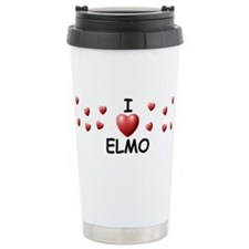 Cute I love elmo Travel Mug