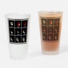 Supermoon & Eclipse Drinking Glass