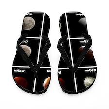 Supermoon & Eclipse Flip Flops