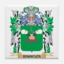 Barraza Coat of Arms - Family Crest Tile Coaster