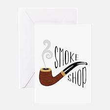 Smoke Shop Greeting Cards