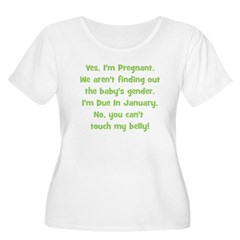 Pregnant Surprise due January T-Shirt