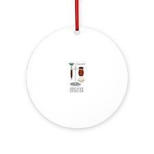 Smooth Operator Round Ornament