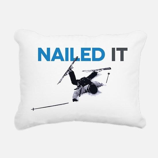 Nailed It Rectangular Canvas Pillow