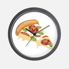 Pizza Slice Wall Clock