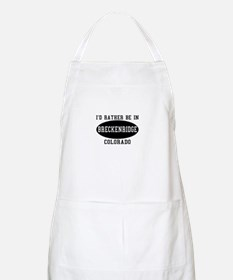I'd Rather Be in Breckenridge BBQ Apron