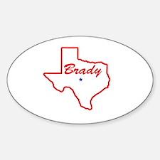 Texas - Brady Decal