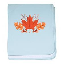 Autumn Leaves baby blanket