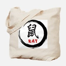 Zen Rat Tote Bag