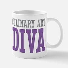 Culinary Art DIVA Mugs