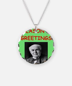 thomas alvia edison Necklace