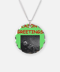 Cute Physics christmas Necklace