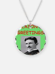 Unique Physics christmas Necklace