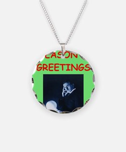 Cool Physics christmas Necklace