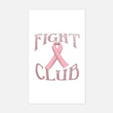 Fight Club with Pink Ribbon Decal