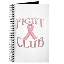 Fight Club with Pink Ribbon Journal