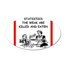 statistics Wall Decal