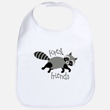 Forest Friends Bib