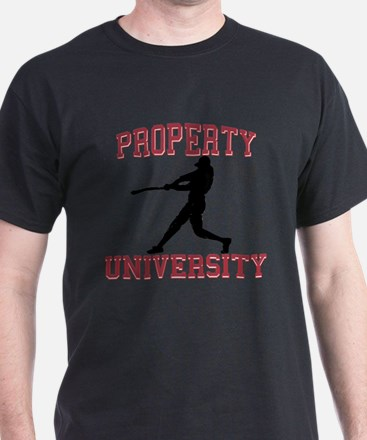 Property of Baseball University T-Shirt