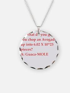 chemistry joke Necklace