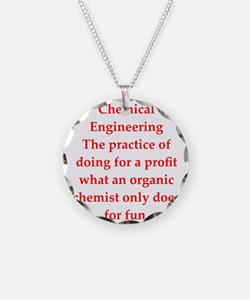 chemistry joke Necklace