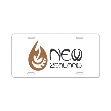 new zealand aluminum license plate by hopscotch21