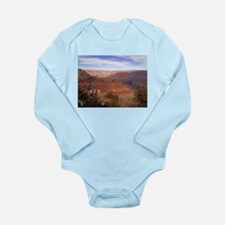 Funny Grand canyon picture Long Sleeve Infant Bodysuit