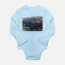 Grand canyon picture Long Sleeve Infant Bodysuit